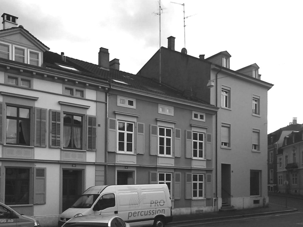 Umbau und ausbau wohn und b rogeb ude von 1874 an der kanonengasse in basel forsberg architekten - Architekturburo basel ...