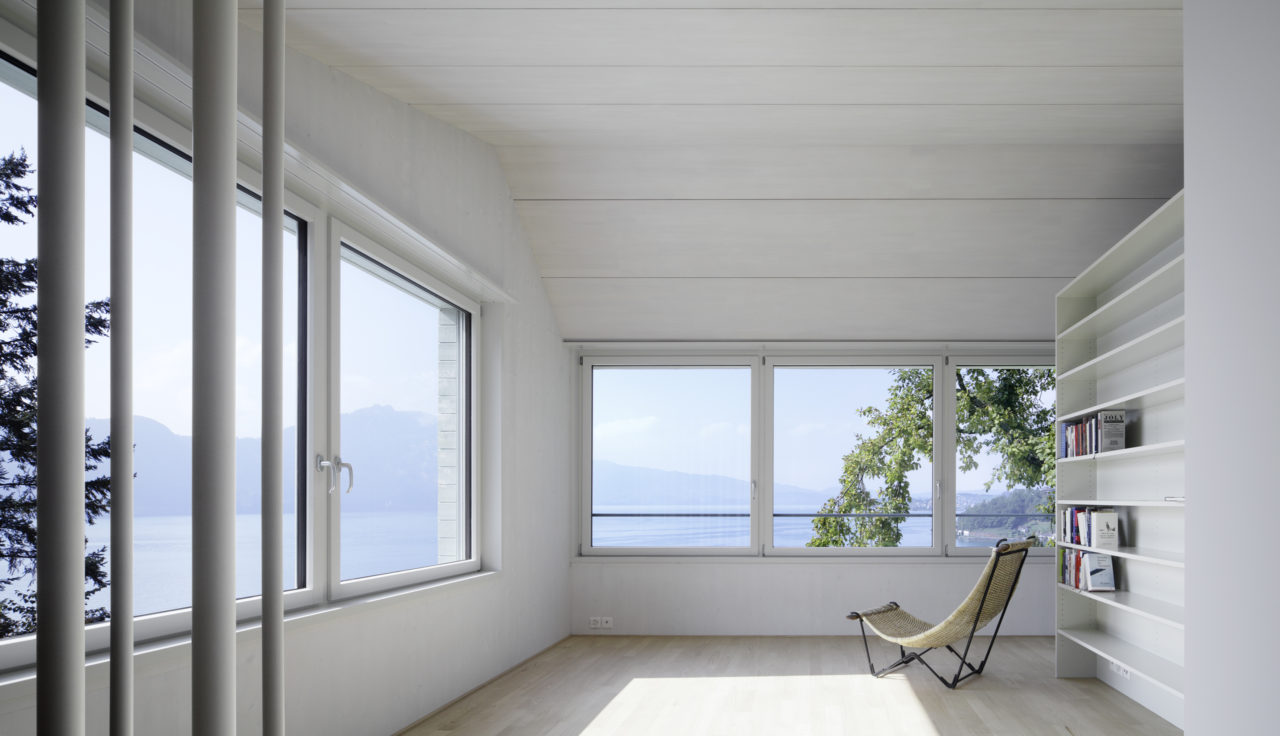 Aufstockung Dachgeschoss nach Umbau von Architekturbüro Forsberg in Basel