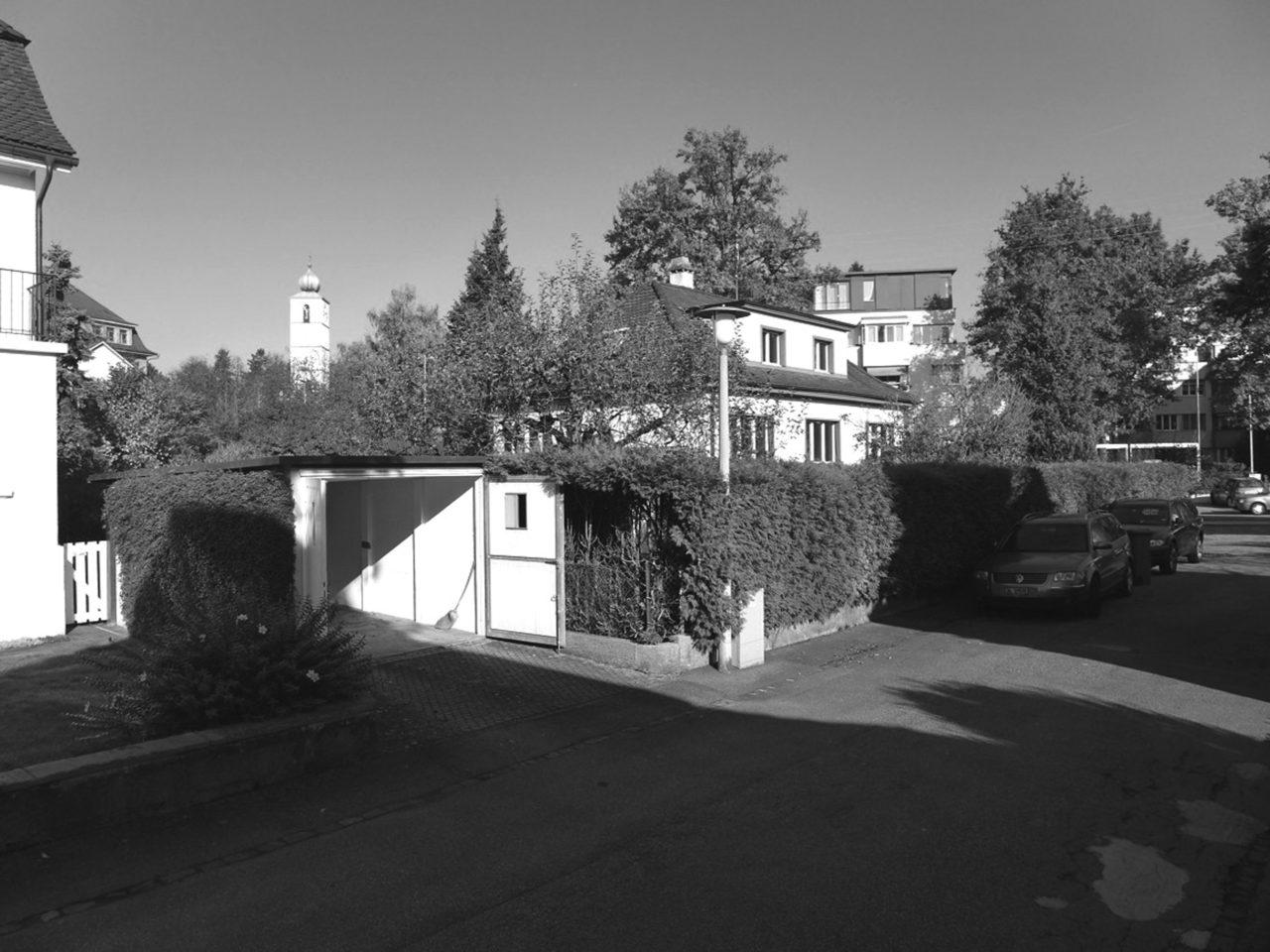 Vor Umbau und Aufstockung von Architekturbüro Forsberg in Basel