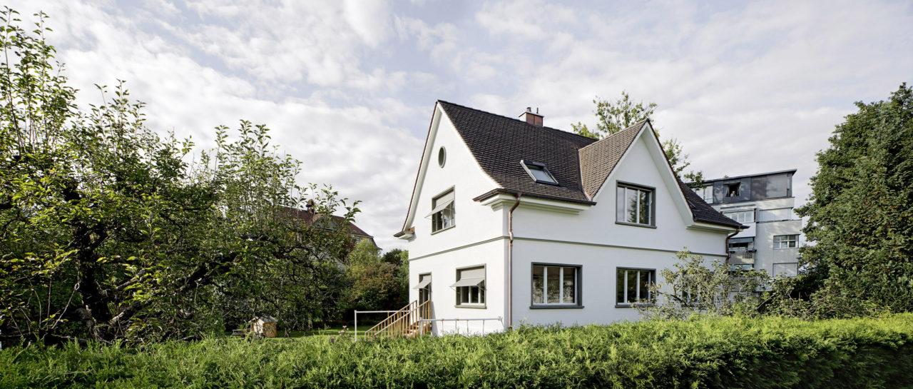 Nach Umbau und Aufstockung von Architekturbüro Forsberg in Basel